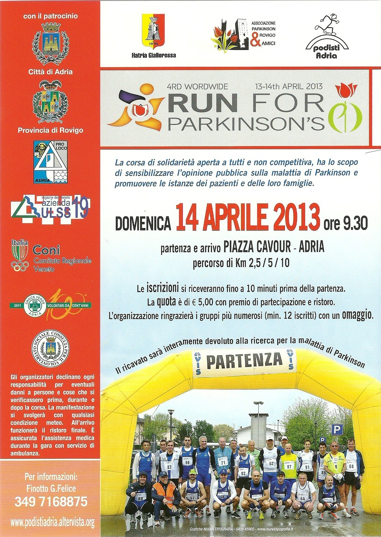 run for pakinson 2013